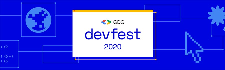 Google DevFest 2020, from 16 to 18 October